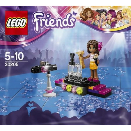 LEGO 30205 Friends Popster Rode Loper (Polybag)