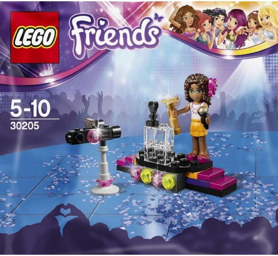 30205 Friends Popster Rode Loper (Polybag)