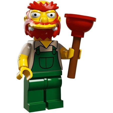 LEGO 71009 The Simpsons 2 Groundskeeper Willie