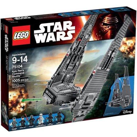 LEGO 75104 Star Wars Kylo Ren‰Û¡ÌÝå»s Command Shuttle