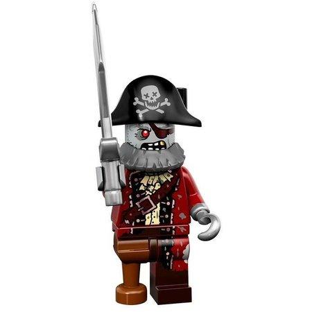 LEGO 71010-2:Minifiguren serie 14 Zombie Pirate