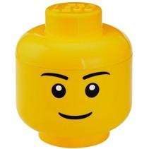 Specials Opbergbox Legohoofd Jongen klein