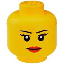 Specials Opbergbox Legohoofd Meisje groot