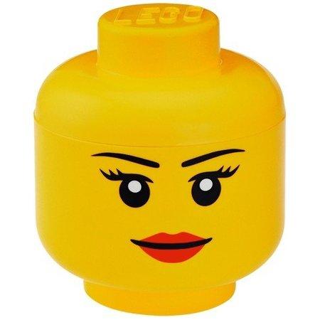 LEGO Specials Opbergbox Legohoofd Meisje groot