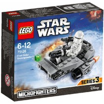 75126 Star Wars First Order Snowspeeder