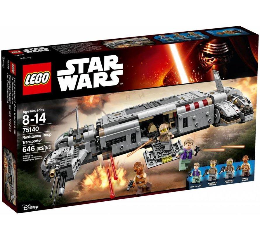 75140 Star Wars Resistance Troop Transporter