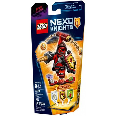LEGO 70334 Nexo Knights Ultimate Monster Meester