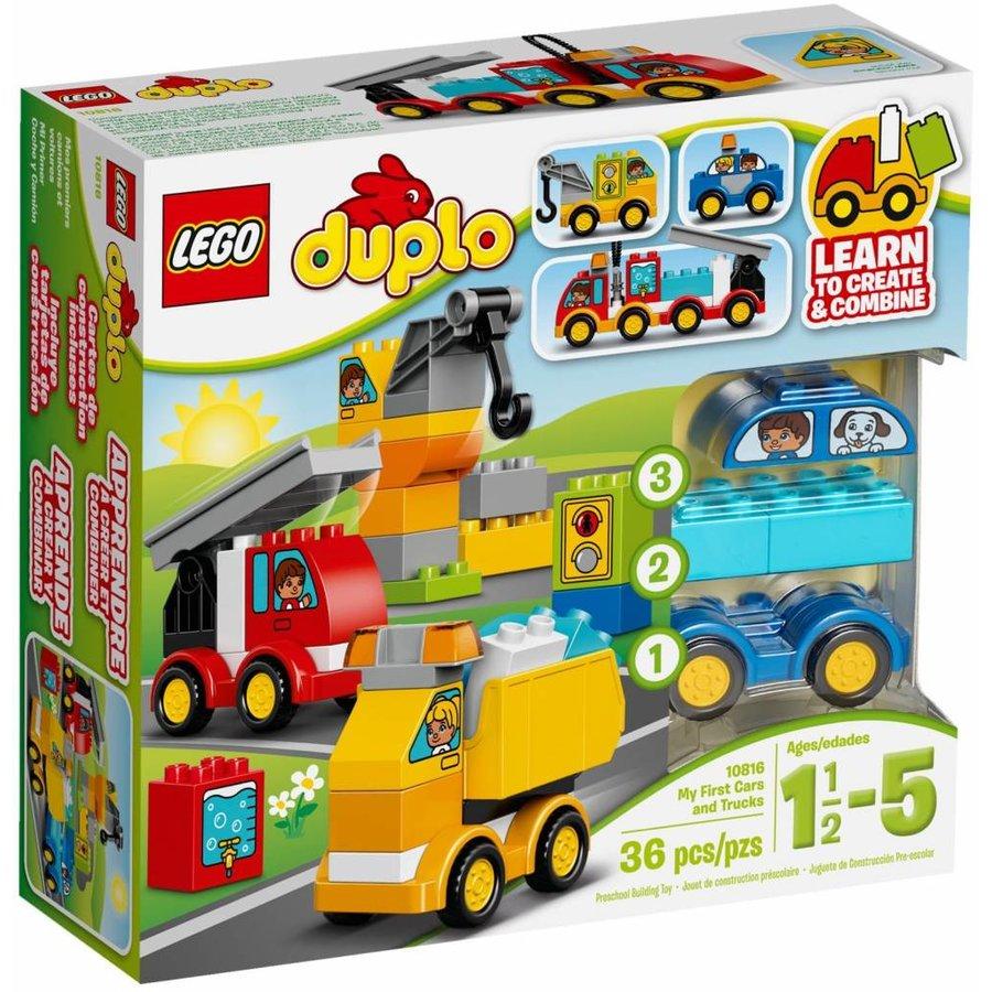 10816 Duplo Mijn Eerste Wagens en Trucks