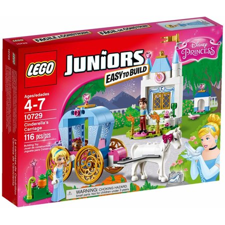 LEGO 10729 Juniors Disney Princess Assepoesters Koets