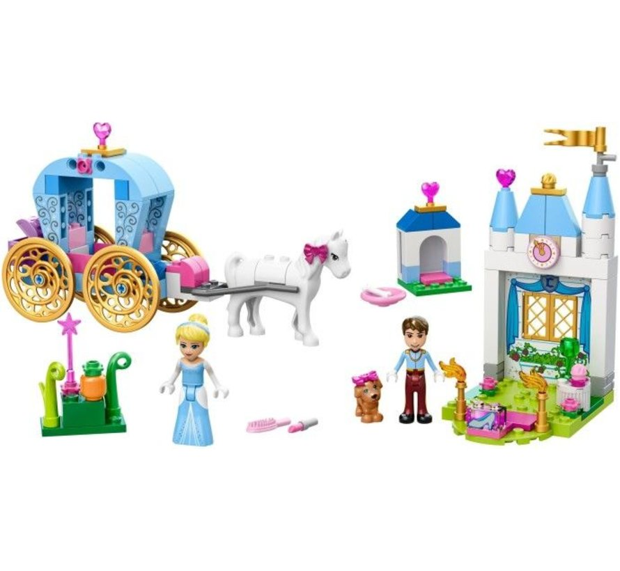 10729 Juniors Disney Princess Assepoesters Koets