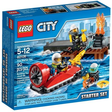 LEGO 60106 City Brandweer Startset