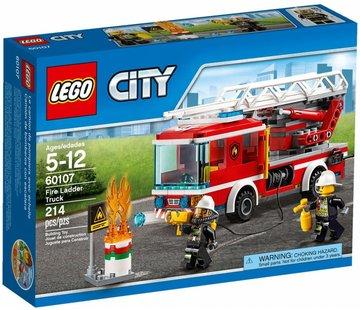 LEGO 60107 City Brandweer Ladderwagen