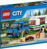 LEGO 60117 City Busje en Caravan