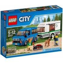 60117 City Busje en Caravan