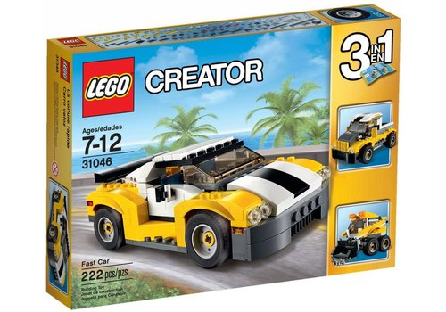 31046 Creator Snelle wagen