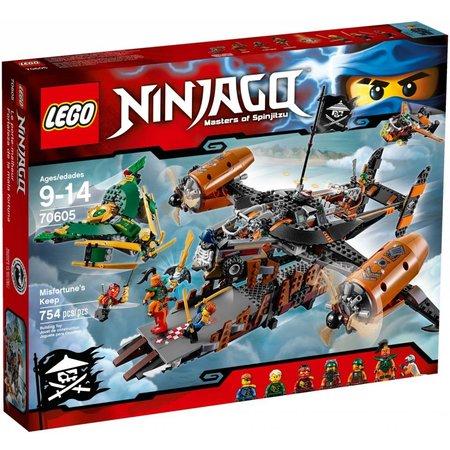 LEGO 70605 Ninjago Misfortune‰Û¡ÌÝå»s Keep