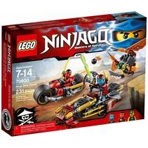70600 Ninjago Ninja motorachtervolging