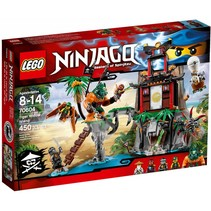 70604 Ninjago Tiger Widow eiland