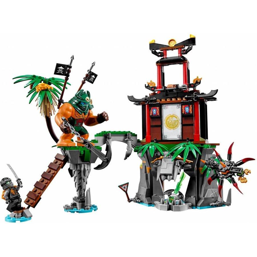 70604 Ninjago Tiger Widow eiland