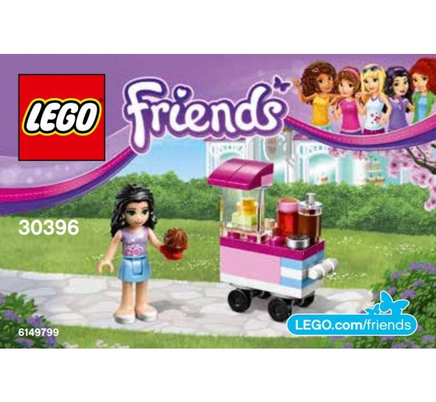 30396 Friends Polybag Cupcake Stand