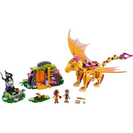 LEGO 41175 Elves De lavagrot van de vuurdraak