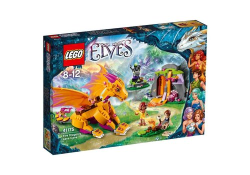 41175 Elves De lavagrot van de vuurdraak