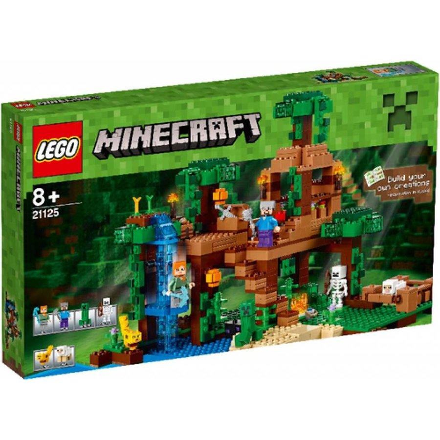 21125 Minecraft De jungle boomhut