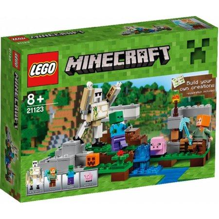 LEGO 21123 Minecraft De IJzergolem