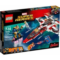 76049 Super Heroes Avenjet ruimtemissie