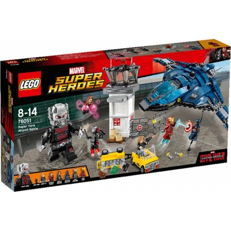 LEGO 76051 Super Heroes Super Hero Airport Battle