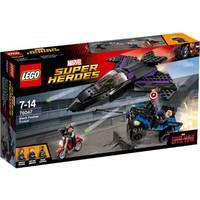 76047 Super Heroes Black Panther Pursuit