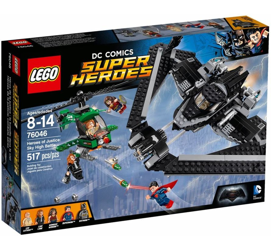 76046 Super Heroes Heroes of Justice: Luchtduel