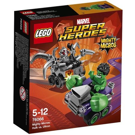 LEGO 76066 Super Heroes Mighty Micros: Hulk vs Ultron
