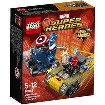 76065 Super Heroes Mighty Micros: Captain America vs Red Sk