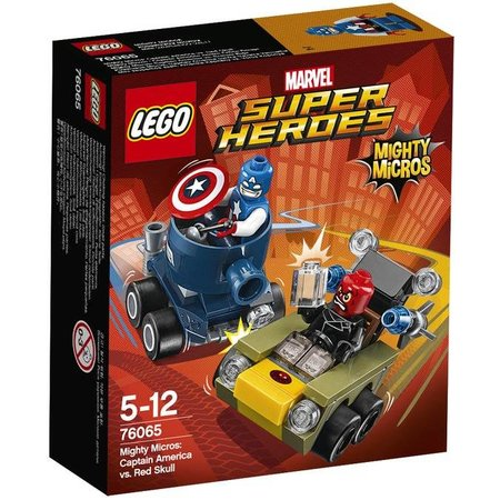 LEGO 76065 Super Heroes Mighty Micros: Captain America vs Red Sk