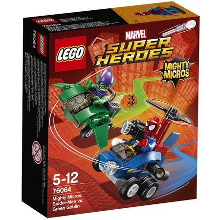LEGO 76064 Super Heroes Mighty Micros: Spider-Man vs Green Gobli