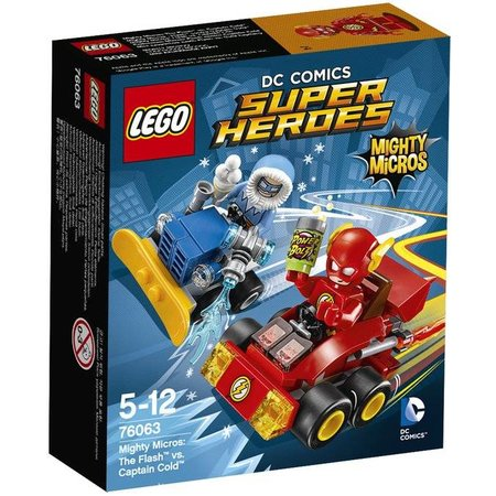 LEGO 76063 Super Heroes Mighty Micros: The Flash vs Captain Cold