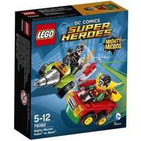 76062 Super Heroes Mighty Micros: Robin vs Bane