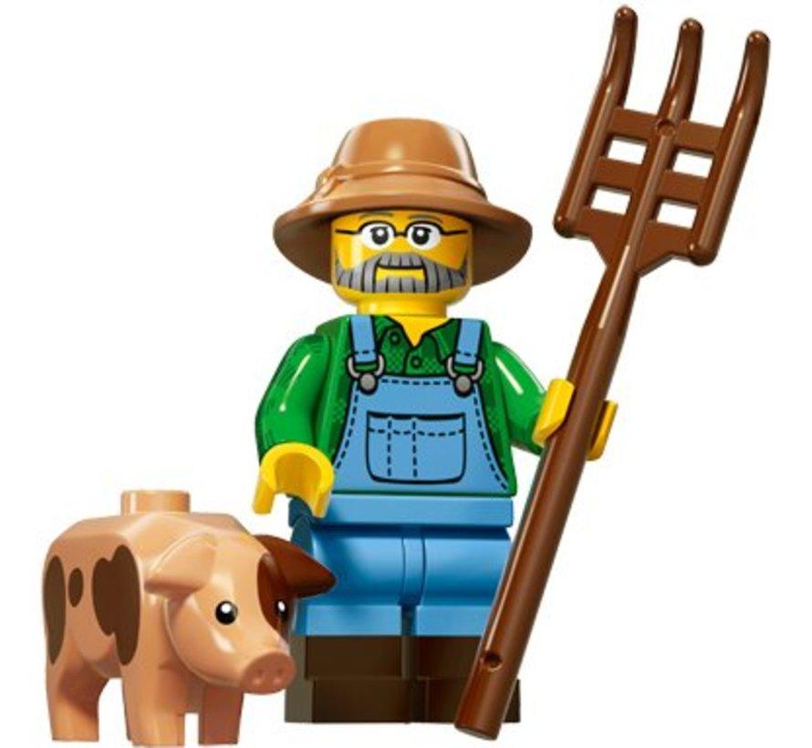 71011-01 : Minifiguren Serie 15 Farmer