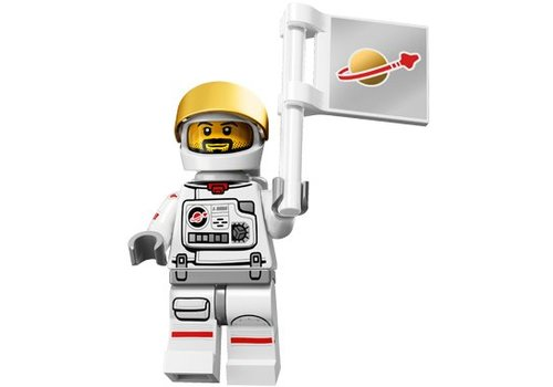 71011-2 : Minifiguren Serie 15 Astronaut