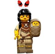 LEGO 71011-05 : Minifiguren Serie 15 Tribal Woman