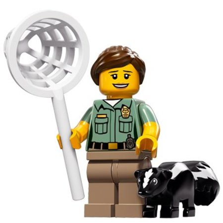 LEGO 71011-8 : Minifiguren Serie 15 Animal Control Officer