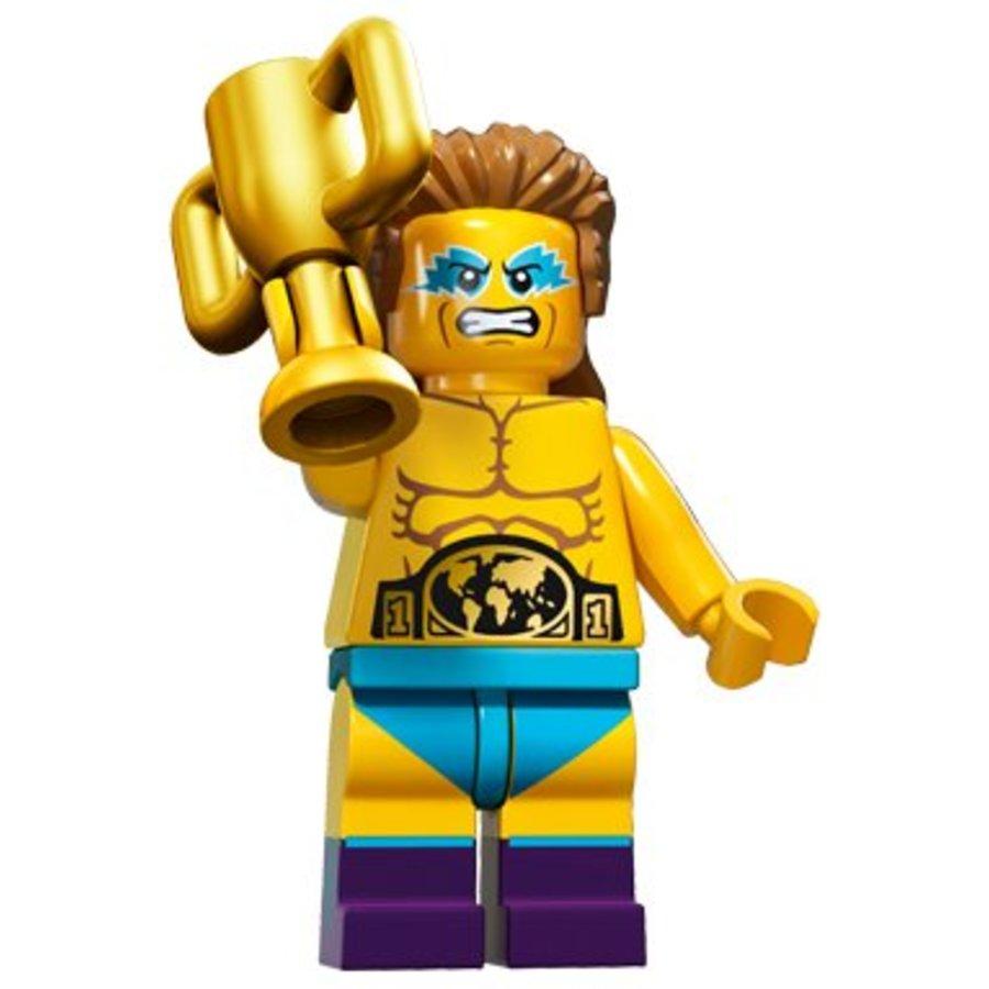 71011-14: Minifiguren Serie 15 Wrestling Champion
