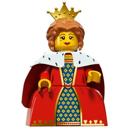 LEGO 71011-16 : Minifiguren Serie 15 Queen