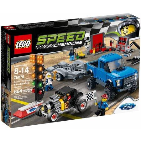 LEGO 75875 Speed Champions Ford F-150 Raptor & Ford Model A Hot Rod LEGO 75875 Speed Champions Ford F-150 Raptor & Ford Model A Hot R