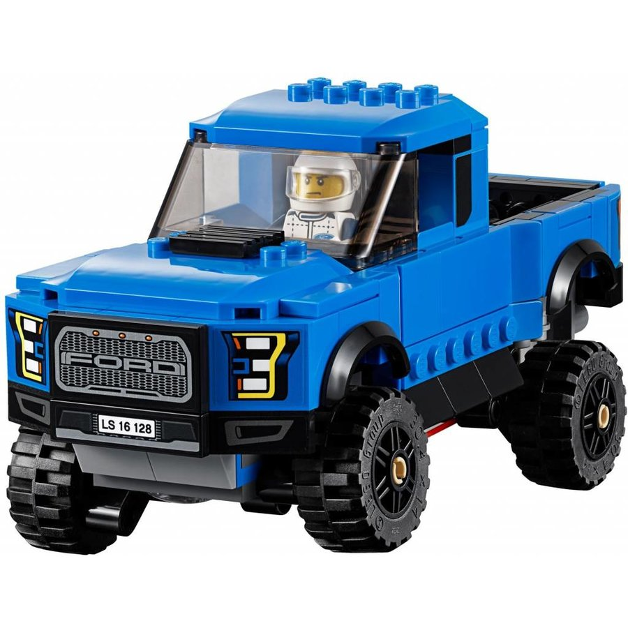 75875 Speed Champions Ford F-150 Raptor & Ford Model A Hot Rod