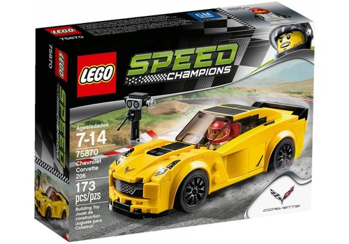 75870 Speed Champions Chevrolet Corvette Z06