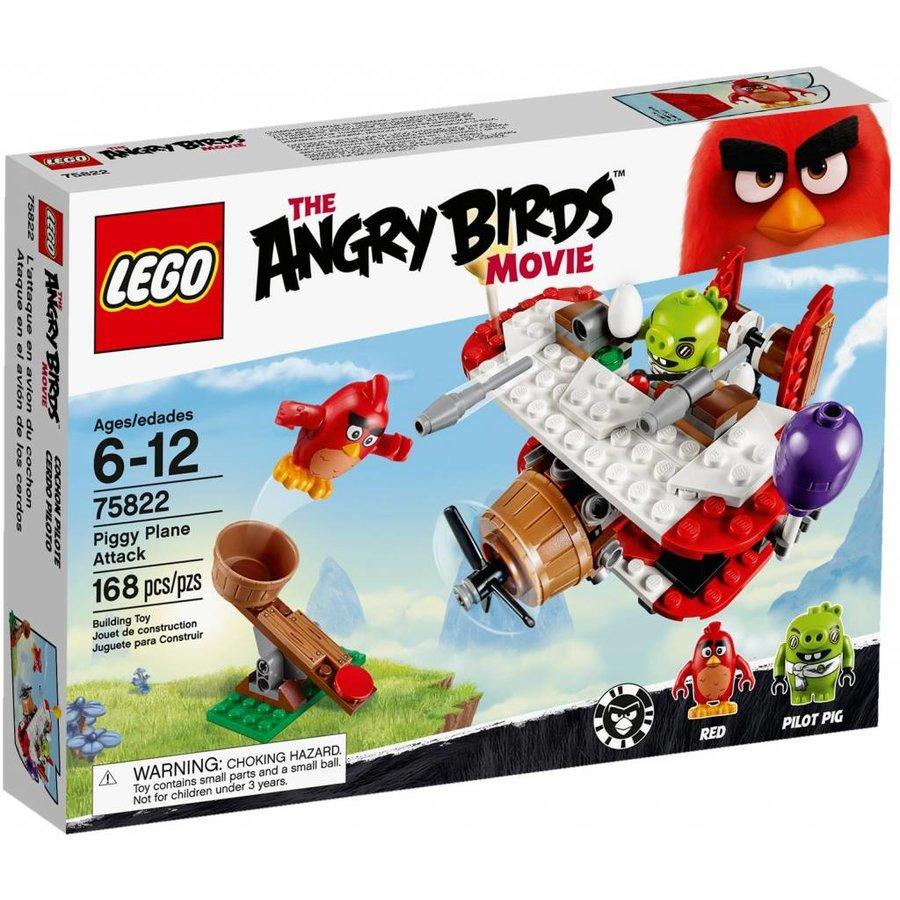 75822 Angry Birds Piggy vliegtuigaanval