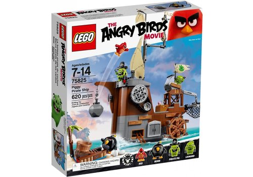75825 Angry Birds Piggy piratenschip