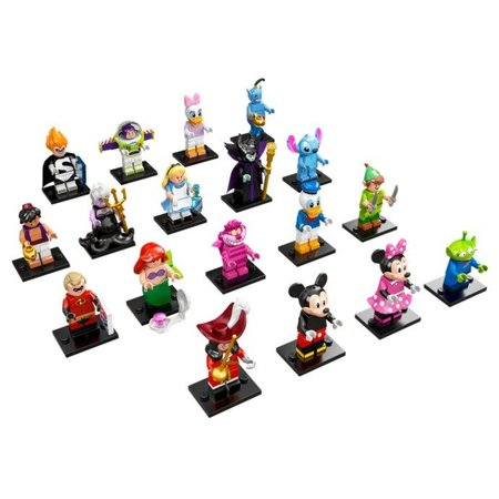 LEGO 71012 Minifiguren Disney Series - Complete serie